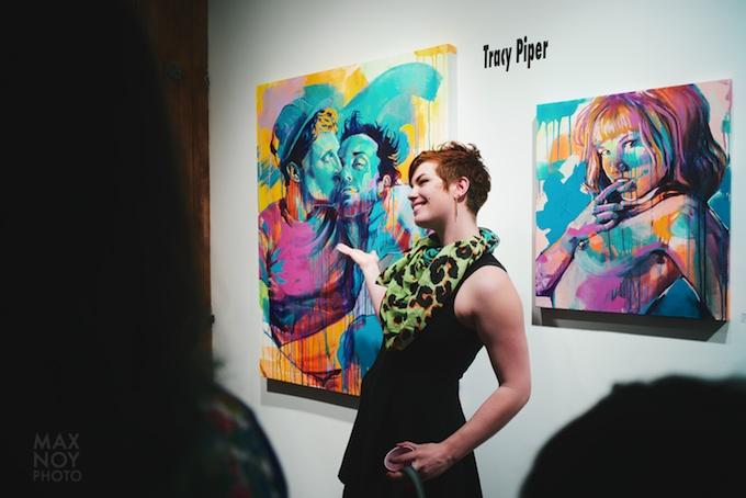 Artist Tracy Piper