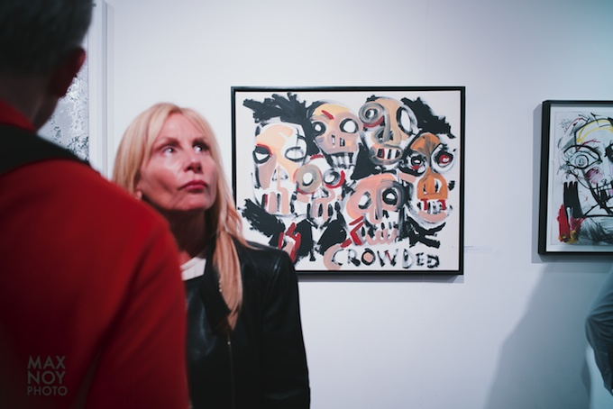 Bad Ass art shines on Art Night in Chelsea