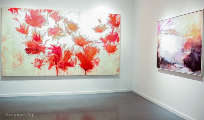 Beatriz Elorza is breathing beautiful color and more with her paintings