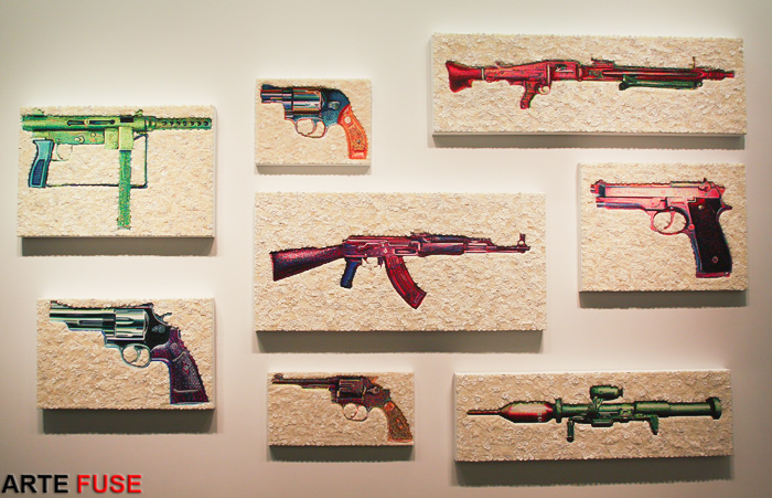Choose your weapon wisely at Claire Oliver Gallery