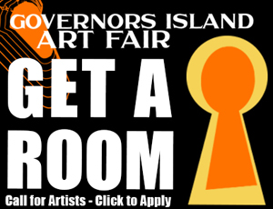 Take your Art on an exotic island get-away in New York Harbor this fall.  For free!