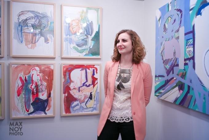 Justine Hill at Galerie Protégé 3