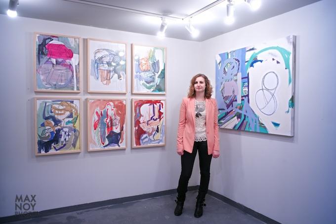 Justine Hill at Galerie Protégé