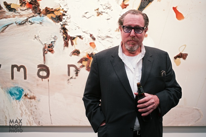 Julian Schnabel at Gagosian Gallery