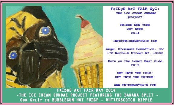 Fridge Art Fair NY Annouces New Dates and Venue Opening Gala May 8  Benefits City Critters Inc.