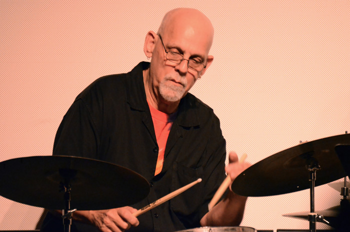 Drummer Bill Goodwin, photo by Lauri Samet