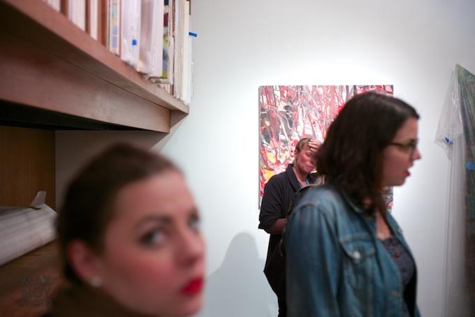 At Asya Geisberg Gallery for Thursday Art Night