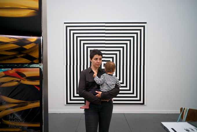 Best to start them young at Frieze photo by Max Noy Photo