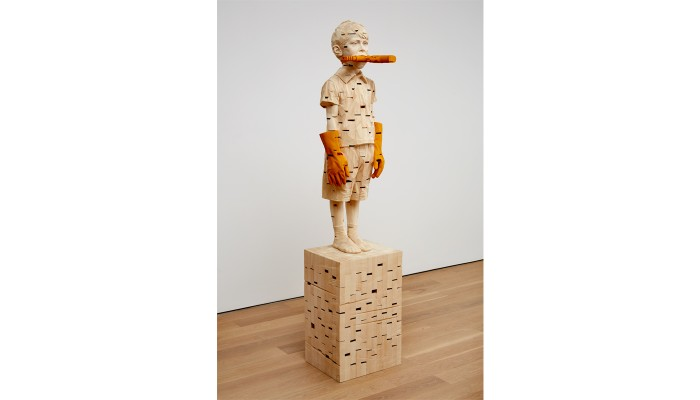 Gehrad Demetz The Invocation at the Jack Shainman Gallery