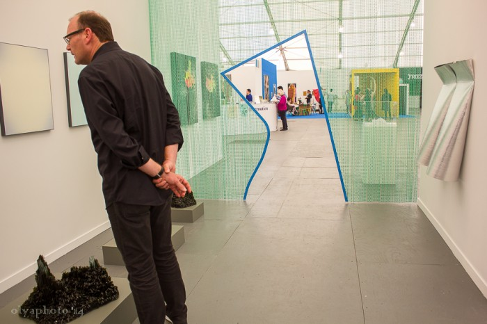 Portals to ART at Frieze photo by Olya Turcihin