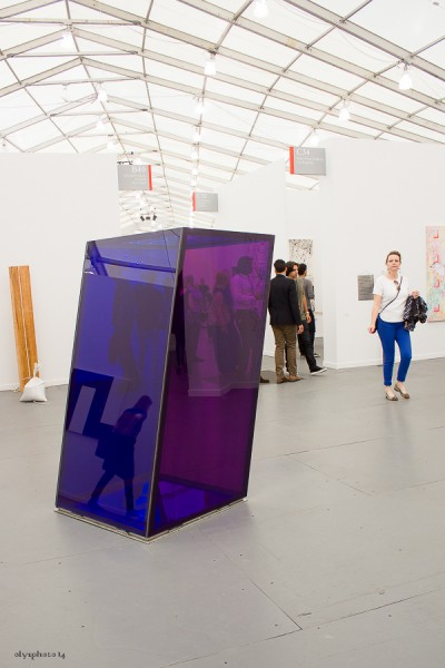 Shapes of things to come at Frieze photo by Olya Turcihin