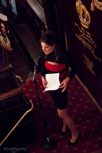 Stella Schnabel sharing her memory of Rene Ricard