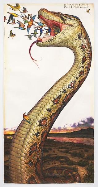 Walton Ford: Watercolors at The Paul Kasmin Gallery