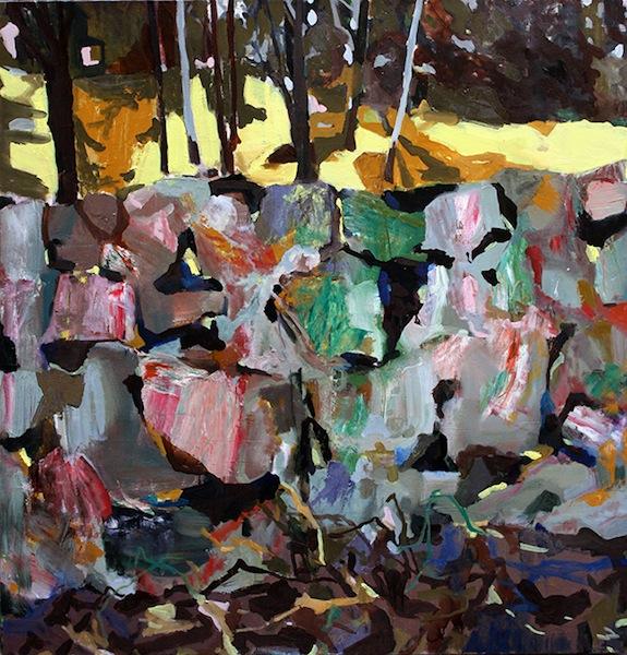 Walled Off (2013) by Allison Gildersleeve
