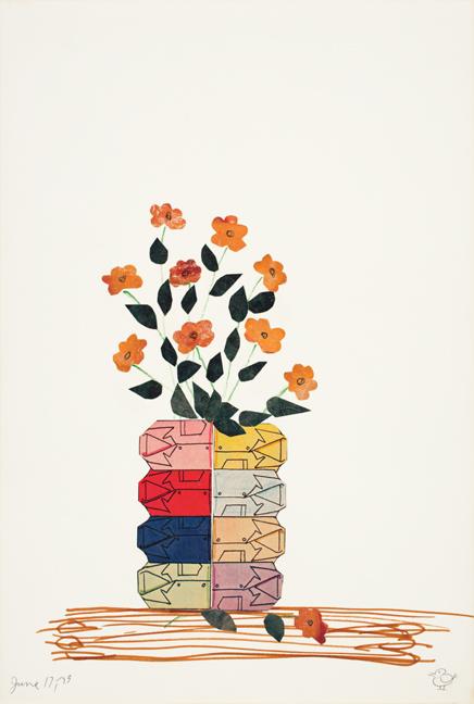 Birdie Lusch, untitled, 1973