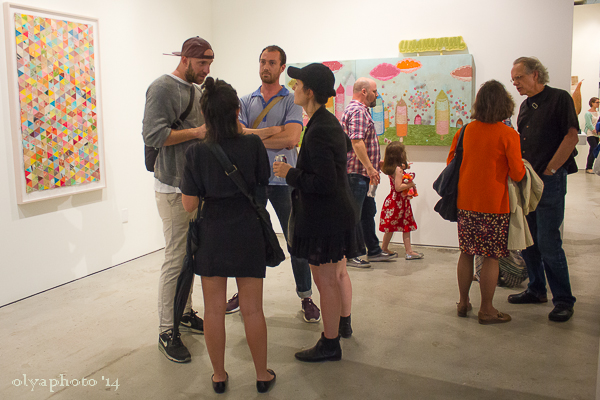Colorful and young at Joshua Liner Gallery