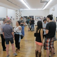 Seeking Space closing reception at The Active Space