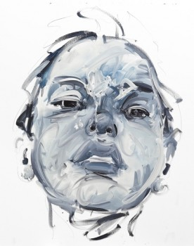 Untitled , 2012, Oil on canvas, 40 x 33 in