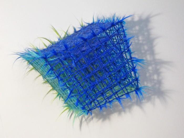 Fuzzy Geometry by Sydney Blum at Kim Foster Gallery