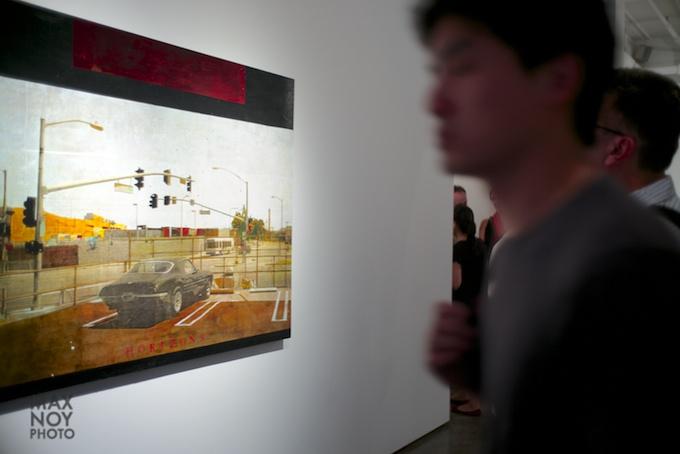 Bertrand Delacroix Gallery during Chelsea Art Walk 2014