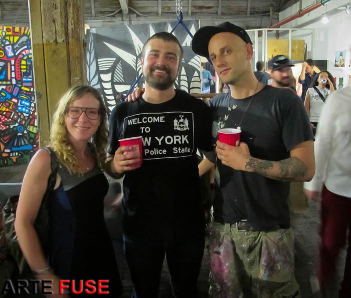 (L-R) Laura Manning, Daniel Weintraub and SEK3