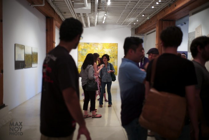 Sundaram Tagore Gallery during Chelsea Art Walk 2014