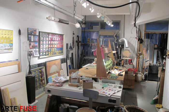 Eric Starosielski's studio