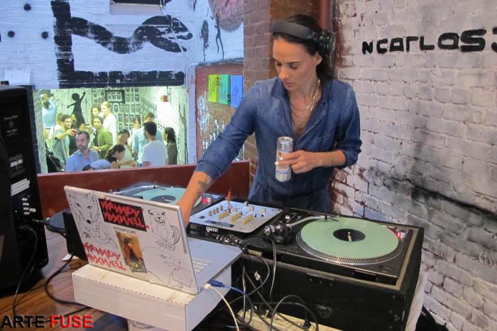 The DJ was killing it