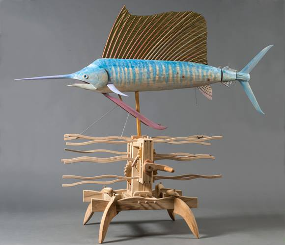 Crank a Fish & See the Origins of Consciousness at ISE Cultural Foundation