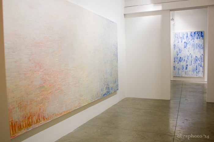Big statement paintings by Christopher Le Brun