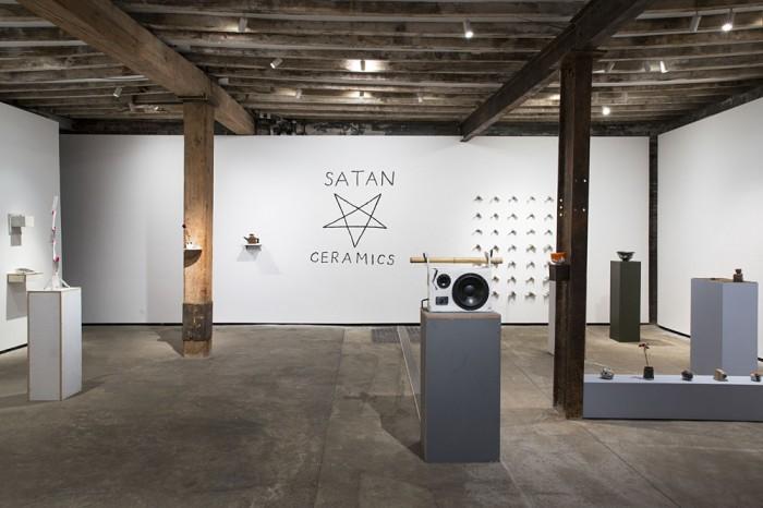 Satan Ceramics at Salon 94