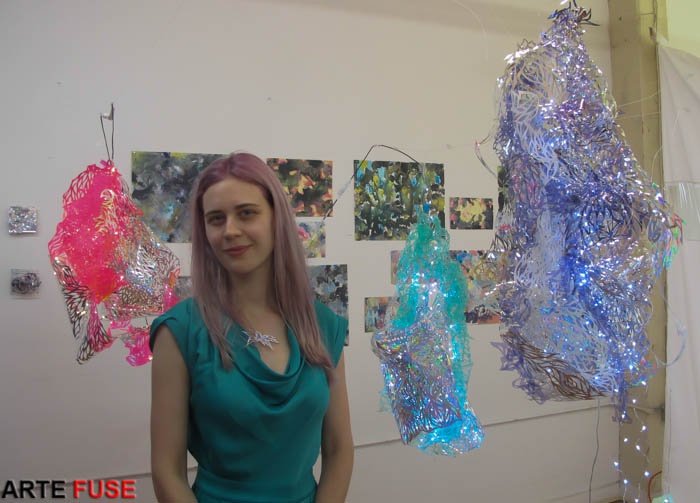 Studio Visit with Julia Sinelnikova