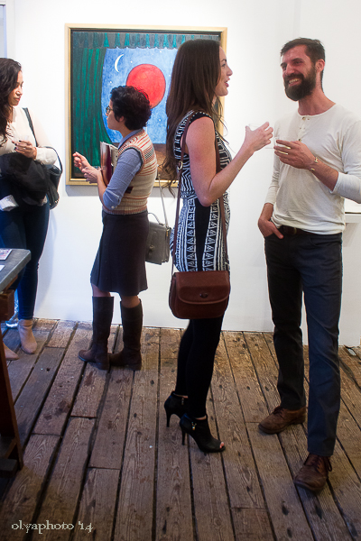 Salud to Art here at Rebecca Hossack Gallery