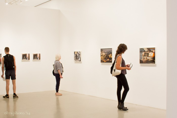 Viewing the work of Justine Kurland