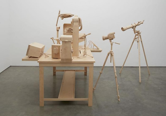 Visibility is a trap: Sculptures by Roxy Paine at Marianne Boesky Gallery