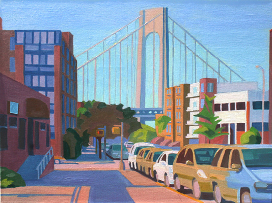 Seasonal scenes around Brooklyn featured at The Bowery Gallery