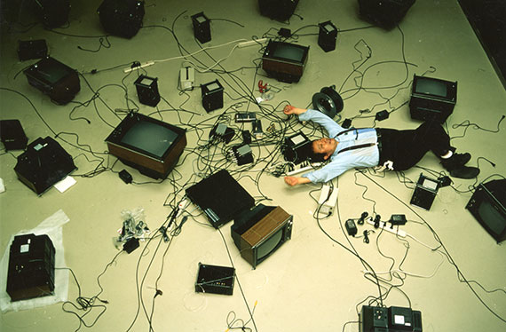 Nam June Paik at Asia Society
