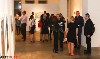 Art Lovers come out on Art Night in Chelsea