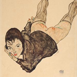 Egon Schiele (1890-1918), Reclining Woman, 1916