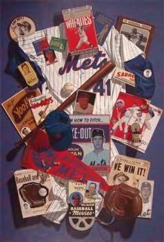 Sports as Art at Neil Scherer's Going Going Gone (Citigroup Center Atrium)