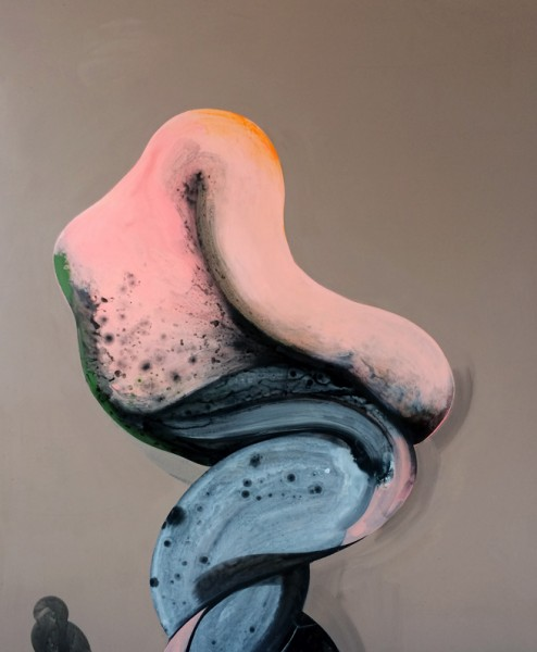 Twisted Figures by Ian Hughes at 532 Gallery Thomas Jaeckel