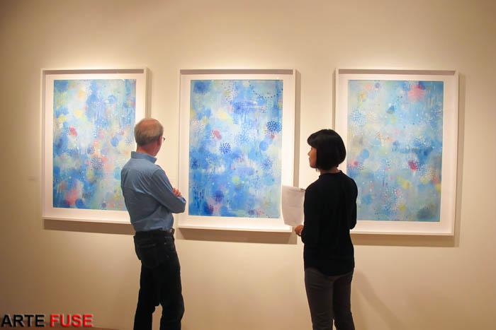 Daru-Jung Hyang Kim: Meditation in Blue at Coohaus Art