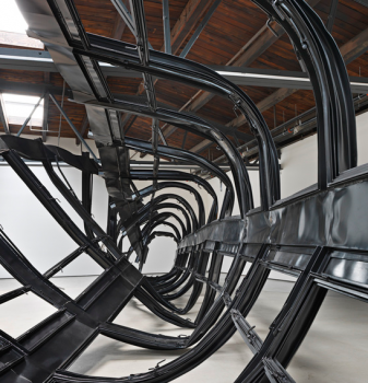 Monika Sosnowska Tower, 2014 Courtesy Hauser & Wirth V