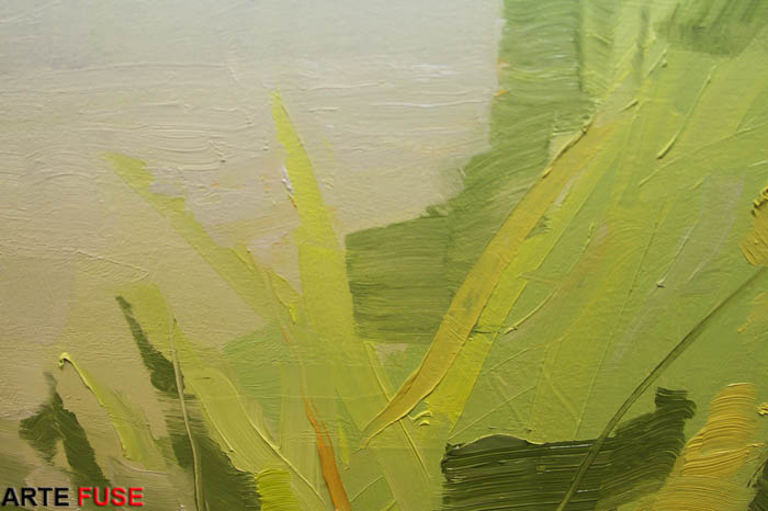 More close up detail on Landscapes by Sara MacCulloch