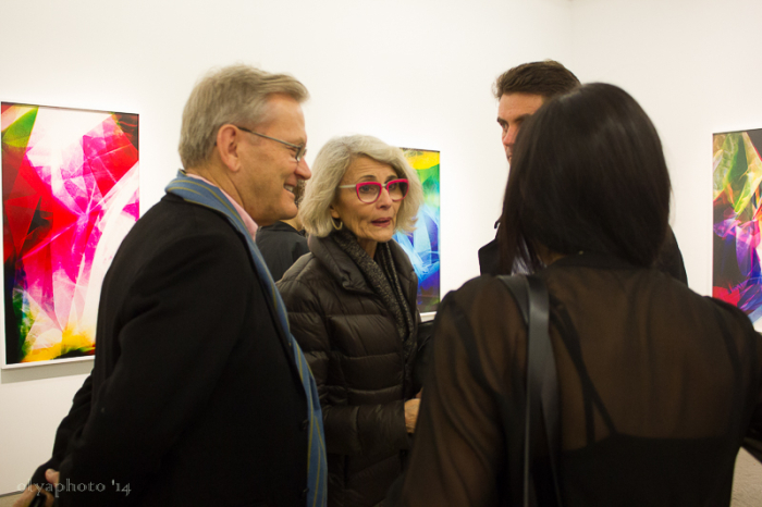 The art aficionados like what they're seeing at Yancey Richardson