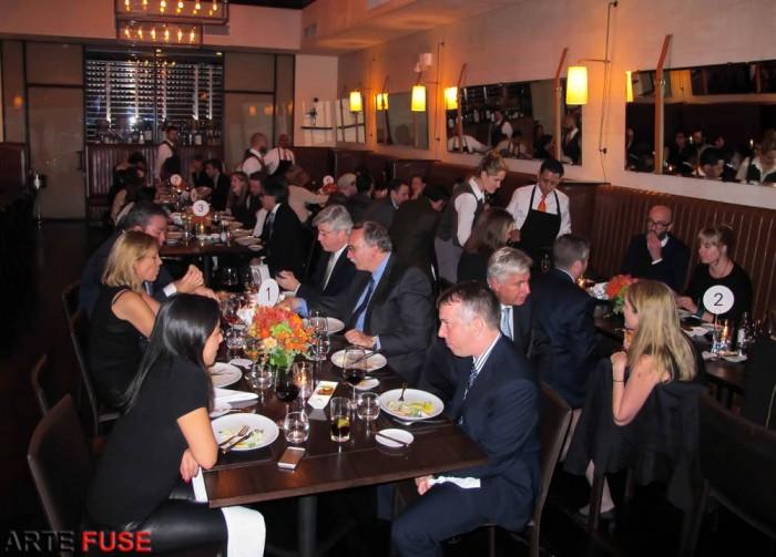 The eBay private dinner at Scarpetta on Nov 7th photo by Jamie Martinez