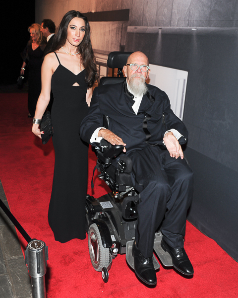 Chuck Close at the WHITNEY Gala - BFA  (photo credit - Billy Farrell)