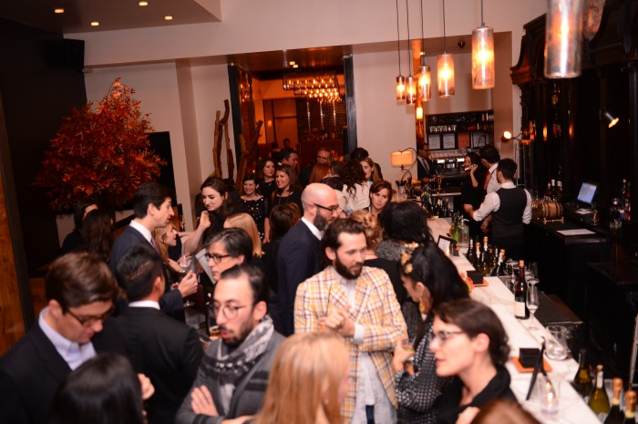 The Creative Set & Media at Scarpetta for eBay's private dinner photo from Edelman
