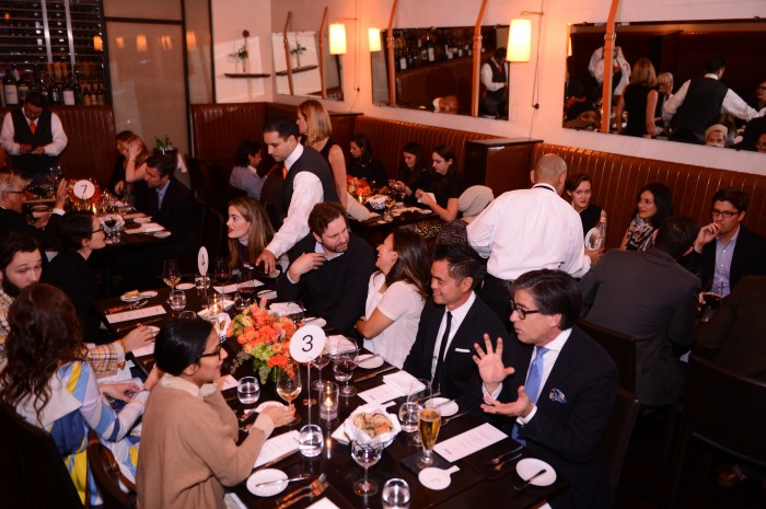 The eBay private dinner at Scarpetta on Nov 7th photo from Edelman