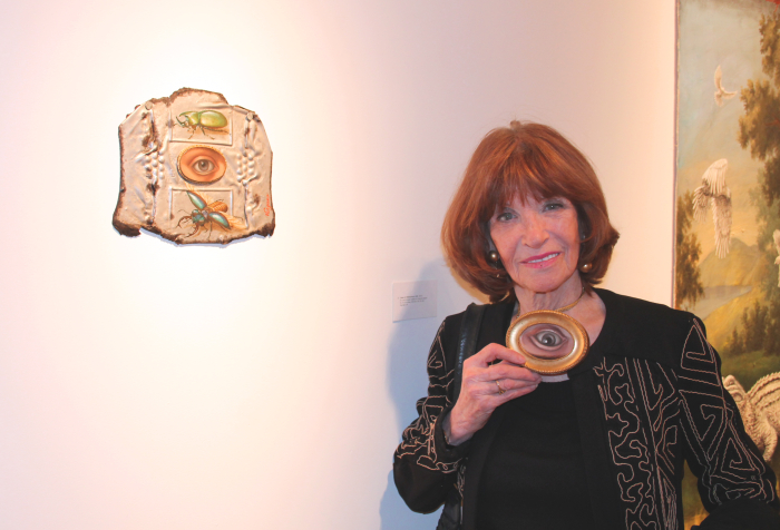 Valerie Jennings at the opening